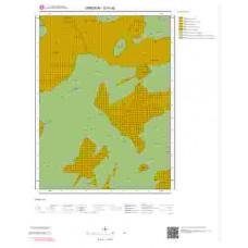 G41d2 Paftası 1/25.000 Ölçekli Vektör Jeoloji Haritası