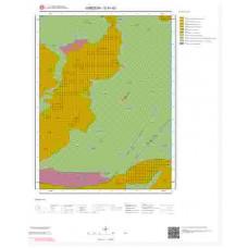 G41d3 Paftası 1/25.000 Ölçekli Vektör Jeoloji Haritası