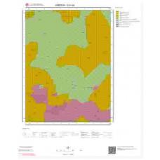 G41d4 Paftası 1/25.000 Ölçekli Vektör Jeoloji Haritası