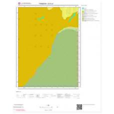 G43a1 Paftası 1/25.000 Ölçekli Vektör Jeoloji Haritası