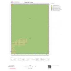 G43a4 Paftası 1/25.000 Ölçekli Vektör Jeoloji Haritası