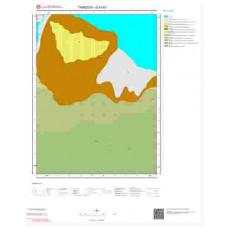 G43b1 Paftası 1/25.000 Ölçekli Vektör Jeoloji Haritası