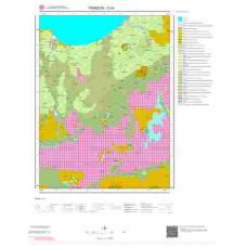 G 44 Paftası 1/100.000 ölçekli Jeoloji Haritası