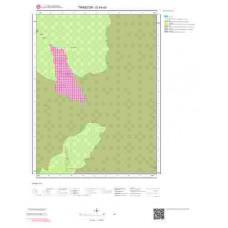 G44a3 Paftası 1/25.000 Ölçekli Vektör Jeoloji Haritası