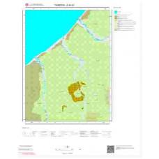 G44b1 Paftası 1/25.000 Ölçekli Vektör Jeoloji Haritası