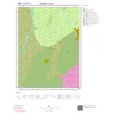 G 44-b4 Paftası 1/25.000 ölçekli Jeoloji Haritası