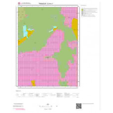 G44c1 Paftası 1/25.000 Ölçekli Vektör Jeoloji Haritası