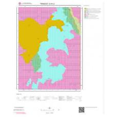 G44c2 Paftası 1/25.000 Ölçekli Vektör Jeoloji Haritası
