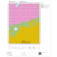 G44c3 Paftası 1/25.000 Ölçekli Vektör Jeoloji Haritası