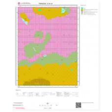 G44c4 Paftası 1/25.000 Ölçekli Vektör Jeoloji Haritası