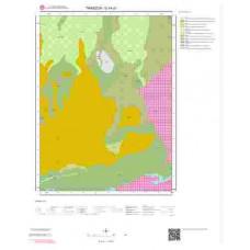 G44d1 Paftası 1/25.000 Ölçekli Vektör Jeoloji Haritası