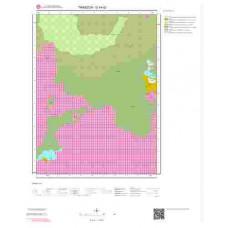 G44d2 Paftası 1/25.000 Ölçekli Vektör Jeoloji Haritası