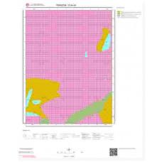 G44d3 Paftası 1/25.000 Ölçekli Vektör Jeoloji Haritası