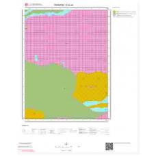 G44d4 Paftası 1/25.000 Ölçekli Vektör Jeoloji Haritası