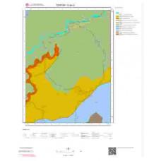 G46c2 Paftası 1/25.000 Ölçekli Vektör Jeoloji Haritası