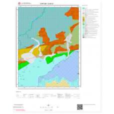 G46d3 Paftası 1/25.000 Ölçekli Vektör Jeoloji Haritası