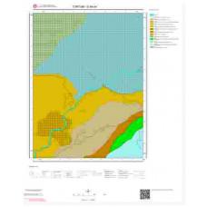 G46d4 Paftası 1/25.000 Ölçekli Vektör Jeoloji Haritası