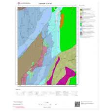 G47b1 Paftası 1/25.000 Ölçekli Vektör Jeoloji Haritası