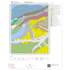 G47c3 Paftası 1/25.000 Ölçekli Vektör Jeoloji Haritası