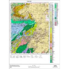 G48 Paftası 1/100.000 Ölçekli Vektör Jeoloji Haritası