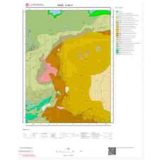G48a1 Paftası 1/25.000 Ölçekli Vektör Jeoloji Haritası