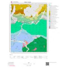 G48a3 Paftası 1/25.000 Ölçekli Vektör Jeoloji Haritası