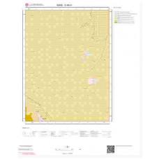 G 48-b1 Paftası 1/25.000 ölçekli Jeoloji Haritası
