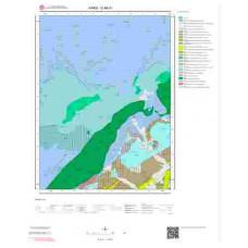 G 48-d1 Paftası 1/25.000 ölçekli Jeoloji Haritası