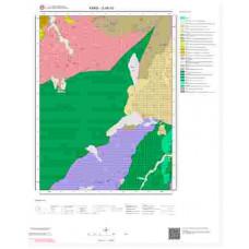 G 48-d3 Paftası 1/25.000 ölçekli Jeoloji Haritası