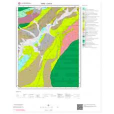 G 48-d4 Paftası 1/25.000 ölçekli Jeoloji Haritası