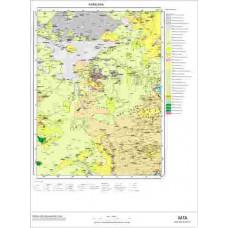 G49 Paftası 1/100.000 Ölçekli Vektör Jeoloji Haritası
