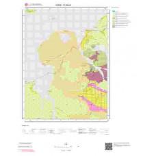 G49a3 Paftası 1/25.000 Ölçekli Vektör Jeoloji Haritası