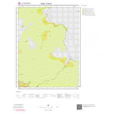 G49a4 Paftası 1/25.000 Ölçekli Vektör Jeoloji Haritası