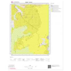 G49b2 Paftası 1/25.000 Ölçekli Vektör Jeoloji Haritası