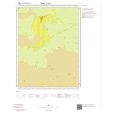 G49c1 Paftası 1/25.000 Ölçekli Vektör Jeoloji Haritası