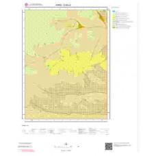 G49c2 Paftası 1/25.000 Ölçekli Vektör Jeoloji Haritası