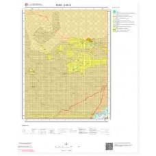 G49c3 Paftası 1/25.000 Ölçekli Vektör Jeoloji Haritası