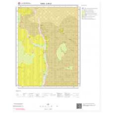 G49c4 Paftası 1/25.000 Ölçekli Vektör Jeoloji Haritası