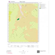 G49d2 Paftası 1/25.000 Ölçekli Vektör Jeoloji Haritası