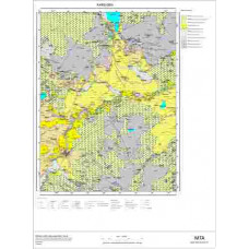 G 50 Paftası 1/100.000 ölçekli Jeoloji Haritası