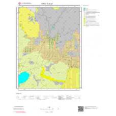 G50a4 Paftası 1/25.000 Ölçekli Vektör Jeoloji Haritası