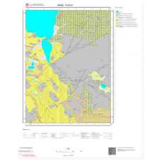 G 50-b1 Paftası 1/25.000 ölçekli Jeoloji Haritası