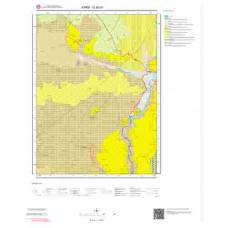 G50d1 Paftası 1/25.000 Ölçekli Vektör Jeoloji Haritası