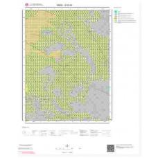 G50d3 Paftası 1/25.000 Ölçekli Vektör Jeoloji Haritası