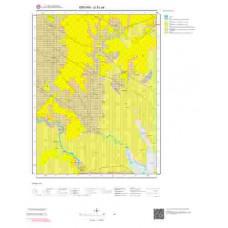 G51a4 Paftası 1/25.000 Ölçekli Vektör Jeoloji Haritası
