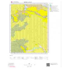 G51d1 Paftası 1/25.000 Ölçekli Vektör Jeoloji Haritası