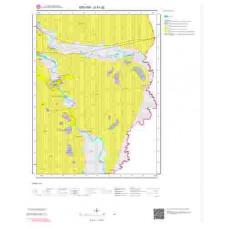 G51d2 Paftası 1/25.000 Ölçekli Vektör Jeoloji Haritası