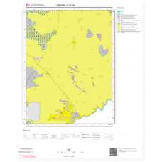G51d4 Paftası 1/25.000 Ölçekli Vektör Jeoloji Haritası