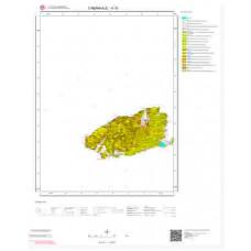 H15 Paftası 1/100.000 Ölçekli Vektör Jeoloji Haritası