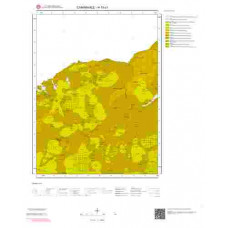 H15c1 Paftası 1/25.000 Ölçekli Vektör Jeoloji Haritası